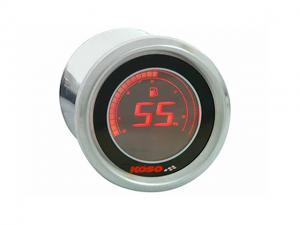 Koso Bränslemätare (Black LCD)