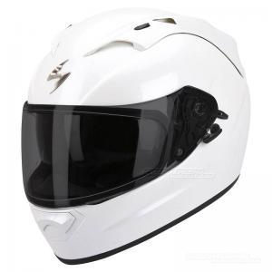 Scorpion EXO-1200 AIR (Solid) Pärlvit