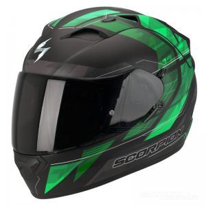 Scorpion EXO-1200 AIR (Hornet) Mattsvart, Neongrön