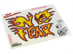 No Fear Dekal (Flame Head)