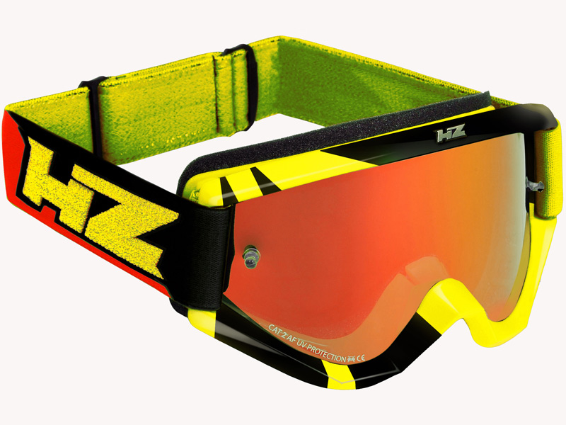 HZ Goggles (Ray) Yellow/Red