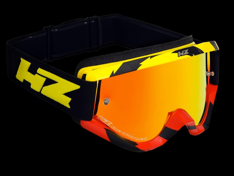 HZ Goggles (Twist) Yellow/Red