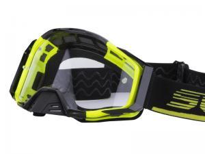 Scorpion Crossglasögon Goggles (E21) Neongul, Svart
