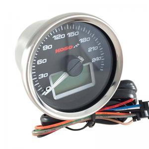 Koso Hastighetsmätare (D55, Black) 0-260km/h