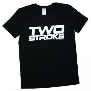 TSR T-Shirt (Twostroke Logo) Svart