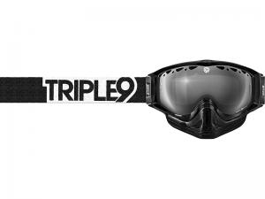 Triple 9 Optics Goggles (Switch) Black/White