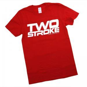 TSR T-Shirt (Twostroke Logo) Röd