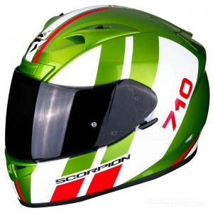 Scorpion EXO-710 AIR (GT) Grön, Vit, Röd