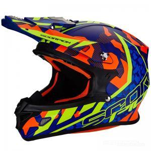 Scorpion VX-21 AIR (FURIO) Svart, Orange, Neongul