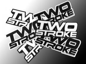 TS Dekal (Two Stroke-Logo) Heavy Duty
