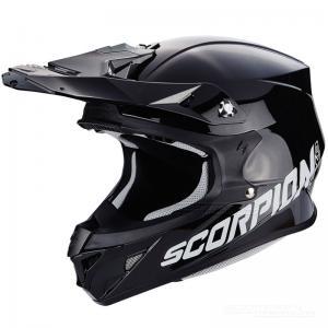 Scorpion VX-21 Crosshjälm MX/Race (Solid) Svart
