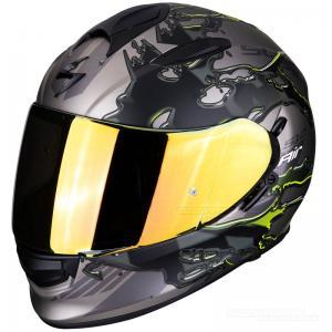 Scorpion EXO-510 Integralhjälm (Likid) Titan, Neongul