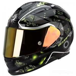 Scorpion EXO-510 Integralhjälm (Xena) Svart, Neongul