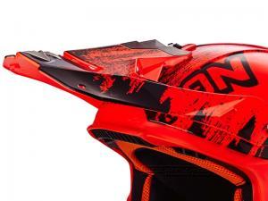 Scorpion Skärm (VX-21 AIR, Mudirt) Svart, Neonröd