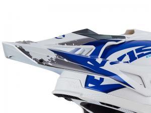 Scorpion Skärm (VX-15 EVO AIR, DEFENDER) Vit, Blå