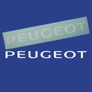 Peugeot Dekal (Peugeot Logo) 31 cm