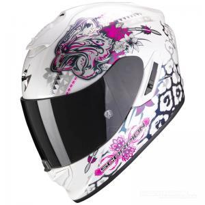 Scorpion EXO-1400 MC-Hjälm (Toa) Vit, Rosa