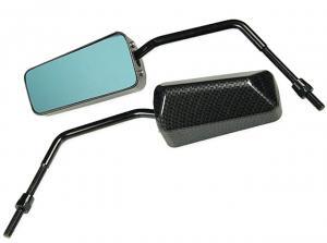 Division Backspegel (F1-Look) Med Tonat glas