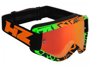 HZ Goggles (Evil) Green/Orange