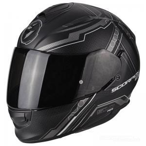 Scorpion EXO-510 AIR (Sync) Mattsvart, Silver
