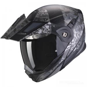 Scorpion ADX-1 Hjälm (Battleflage) Svart, Silver