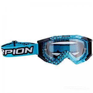 Scorpion Crossglasögon Goggles (E16) Blue Cyan