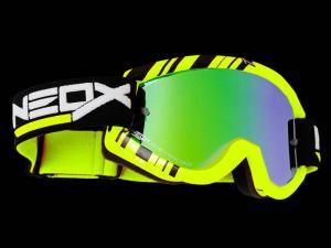 NeoX Goggles (STRIPES) Yellow