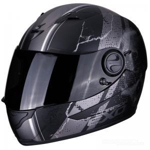 Scorpion EXO-490 (Dar) Mattsvart, Silver