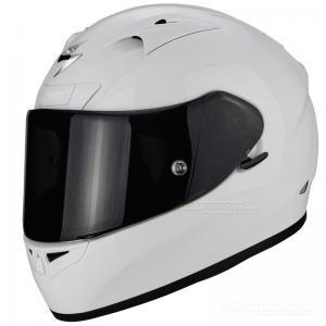 Scorpion EXO-710 Hjälm Race/Gata (Solid) Vit