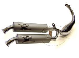 Turbo Kit Avgassystem (Dos Salidos) Underliggande Rieju & Beta