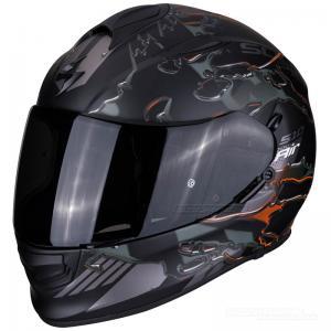 Scorpion EXO-510 Integralhjälm (Likid) Mattsvart, Orange