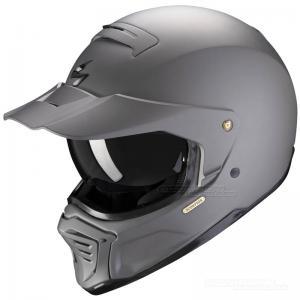 Scorpion EXO-HX1 Streetfighterhjälm (Solid) Cementgrå