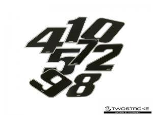 4R Racingsiffror (Svart)