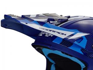 Scorpion Skärm (VX-21 AIR, Furio) Blå, Vit