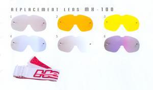 Hebo Tears Off till MX-100 Glasögonen