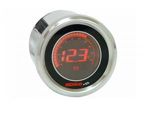 Koso Voltmätare (Black LCD)