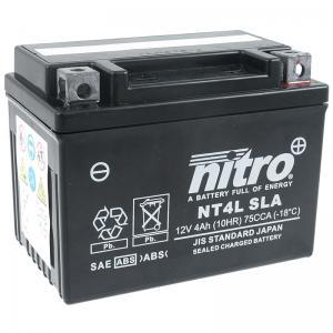 Nitro Batteri (NT4L SLA) - GEL