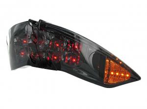 Str8 Baklampa (Black Line) LED