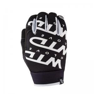 WTD Gloves Mopedhandskar (Shift Lock) Vit