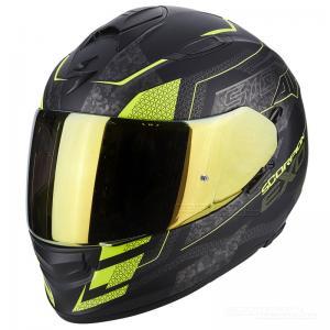 Scorpion EXO-510 AIR (Galva) Mattsvart, Neongul