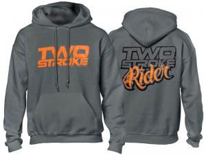 TSR Hoodie (TS Rider) Grå, Orange