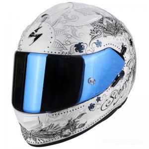 Scorpion EXO-510 Integralhjälm (Azalea) Pärlvit, Silver