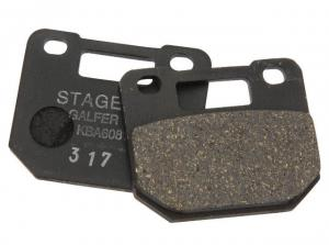 Stage6 Bromsbelägg (R/T) 4-kolvsok