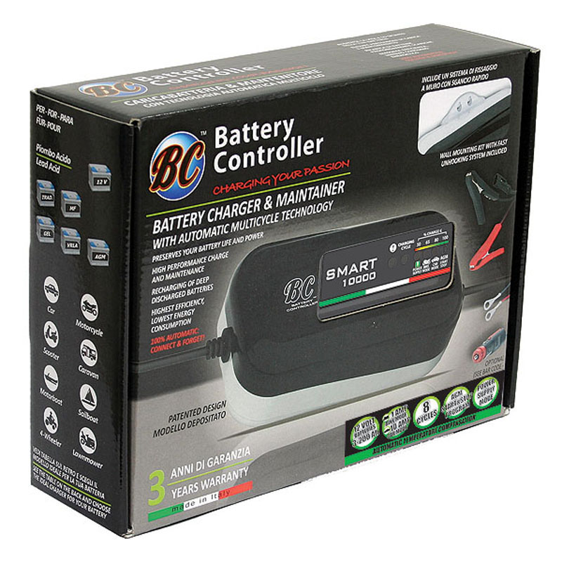 BC Batteriladdare (SMART 10000)