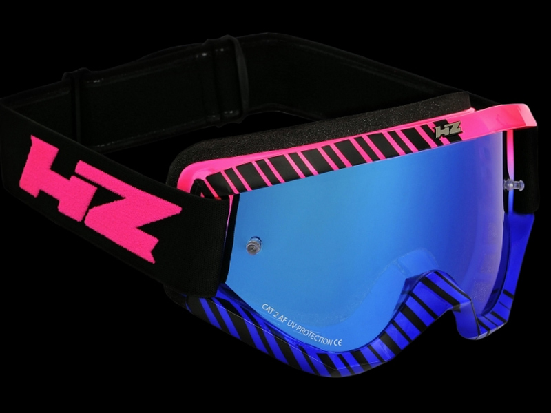HZ Goggles (Grid) Blue/Pink