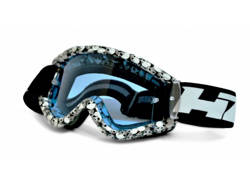 HZ Goggles - Crossglasögon (Skull) - Twostroke.se b0676dd0ac07a