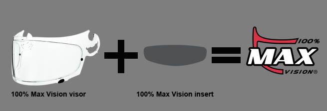 Scorpion Visir (ADX 1) STD (Klarglas)