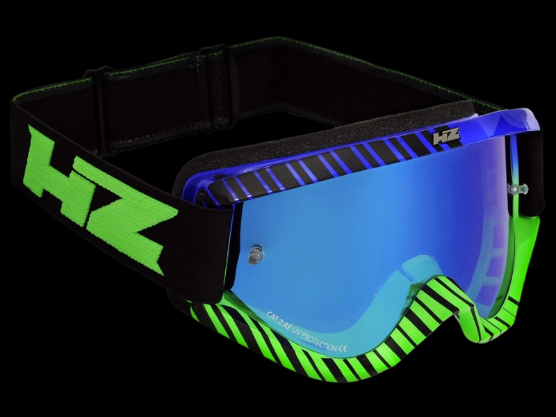 HZ Goggles (Grid) Green/Blue