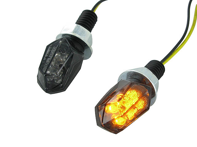 Division Blinkers (Mini II - Black Line LED)